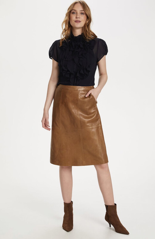 Leather skirt BrittSZ