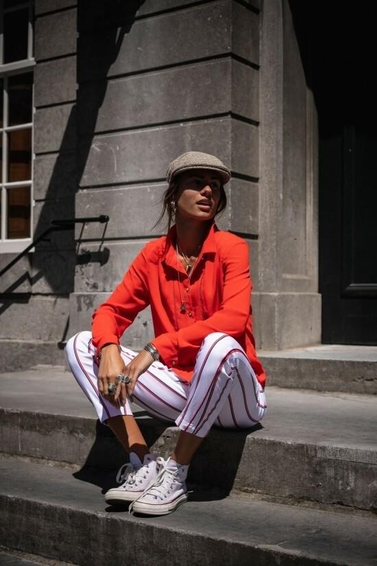 Rood bloesje