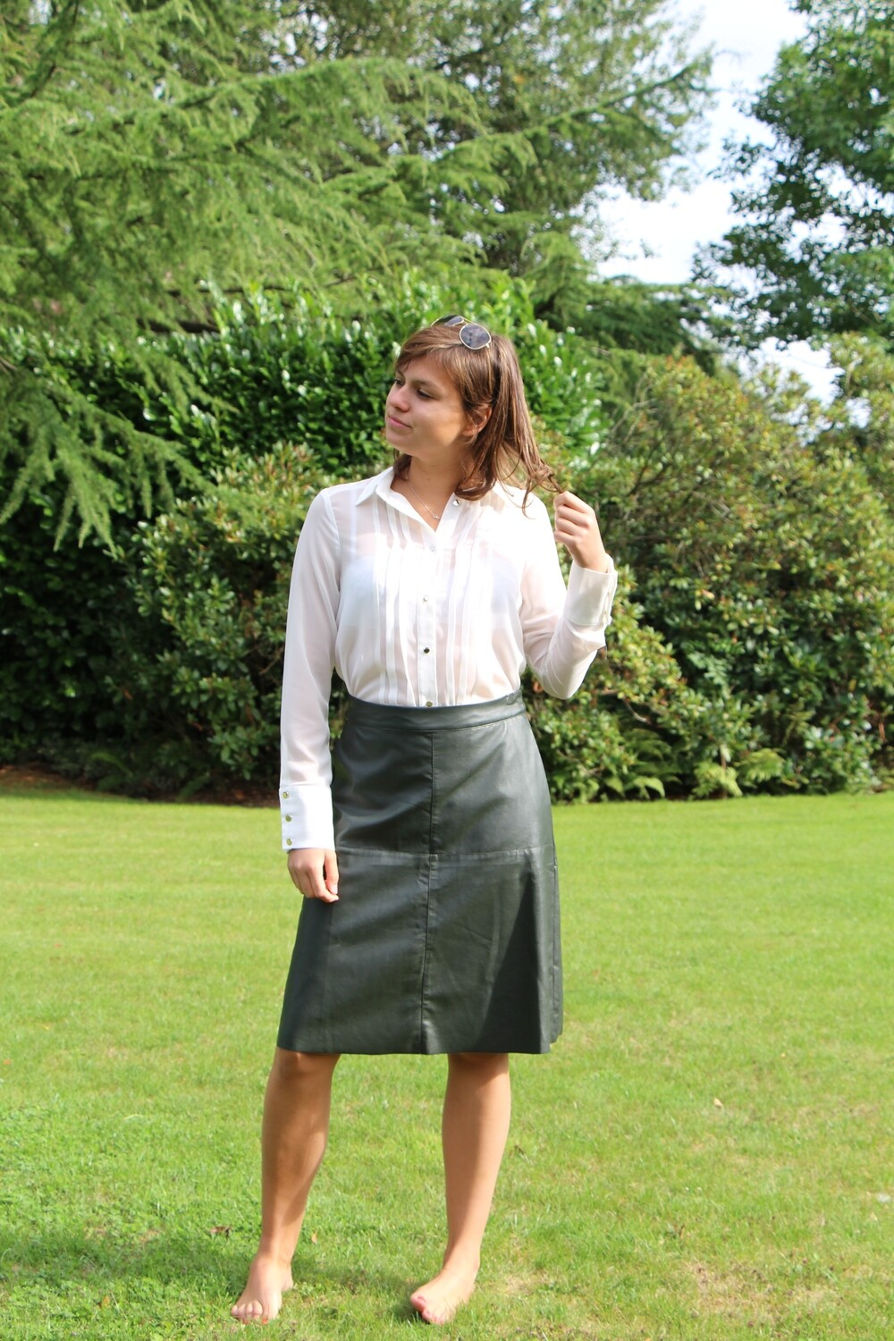 Ecoleather skirt