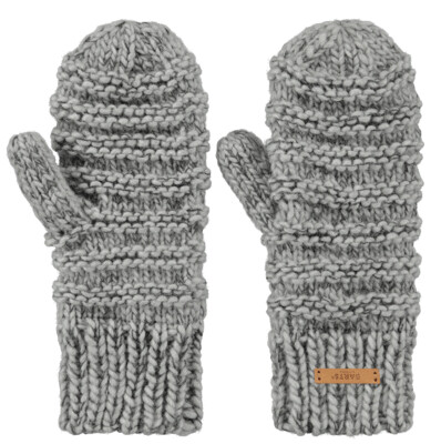 Grey Jasmin Mitts