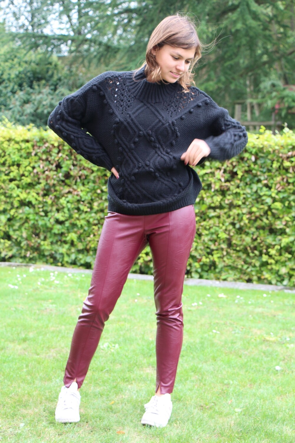 Black sweater Solid 3D