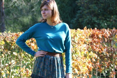 sweater with cuff buttons