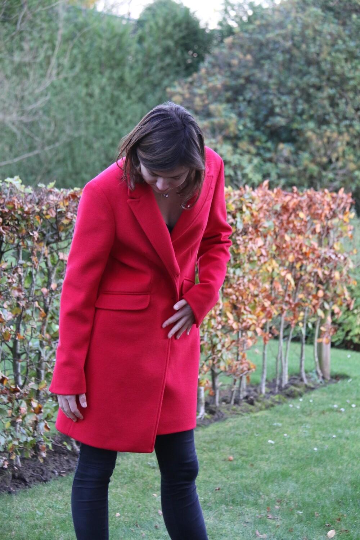 Rode mantel