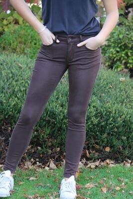 Bruinkleurige jeans
