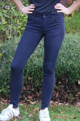 Marineblauwe jeans