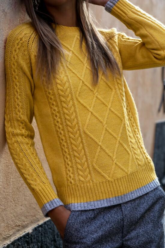 Sweater Pascaline - Yellow