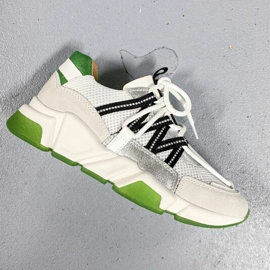 Sneakers LOS ANGELES green/white