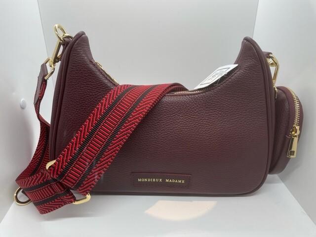 Handbag Olivia Burgundy