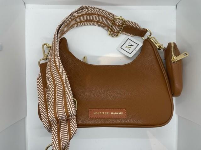 Handbag Olivia Camel