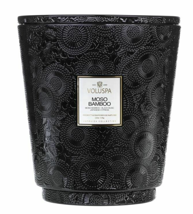 Hearth candle with Lid 3500 gr