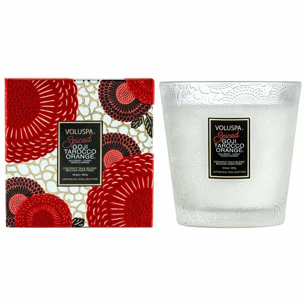 Boxed 2 Wick Hearth Candle with Lid 425 gr