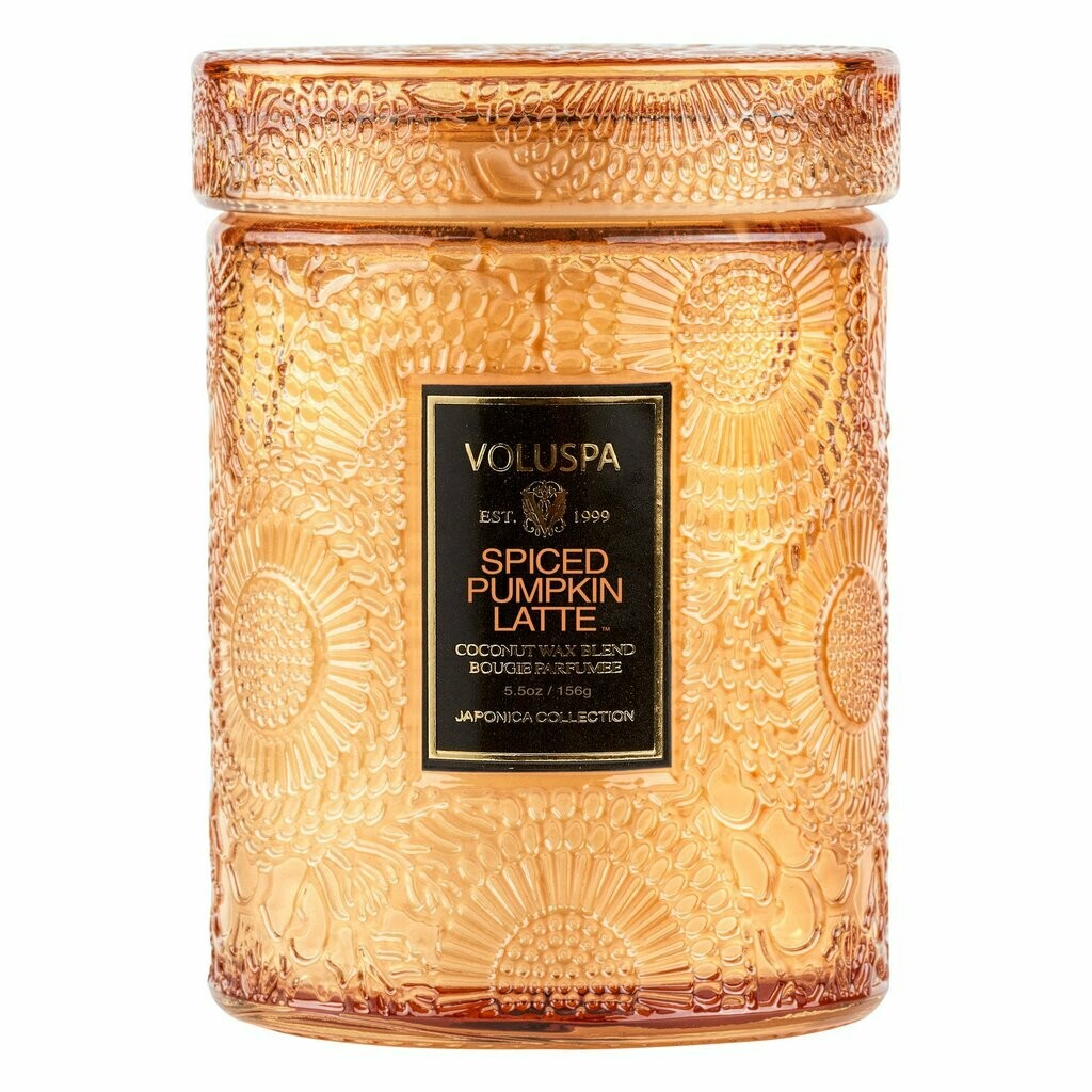 Small Glass Jar Candle with Lid 184 gr