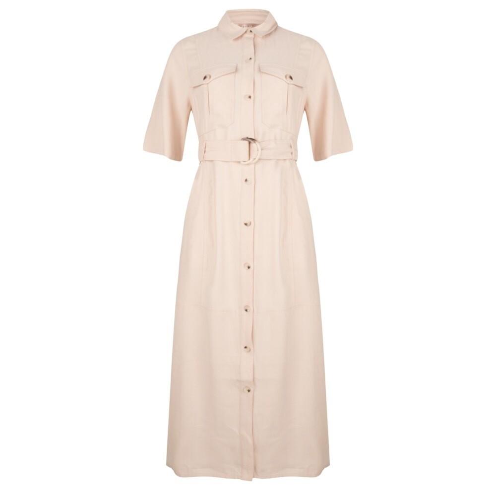 Dress utility long dobby