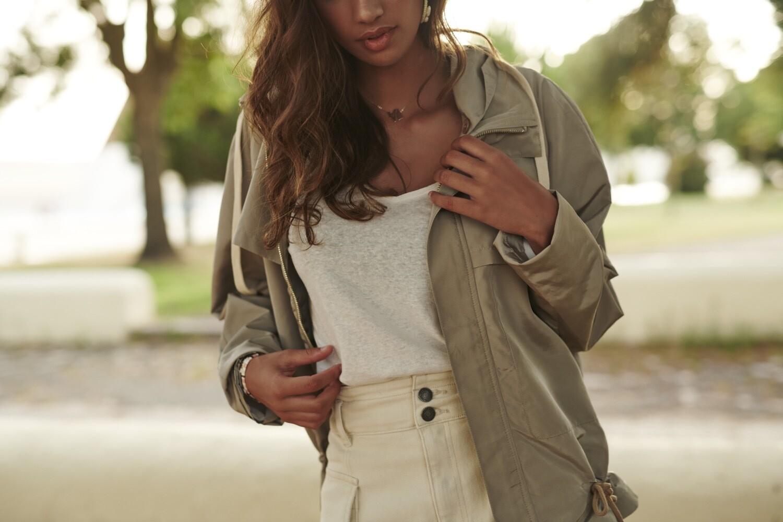 Coat parka hoodie