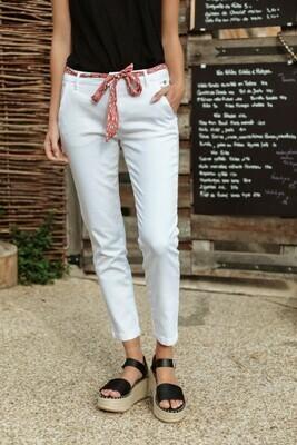 Pantalon Claudia Felicitas - Bright White