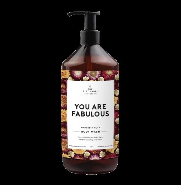 Body wash - Mandarin Musk - You Are Fabulous - 1000 ml