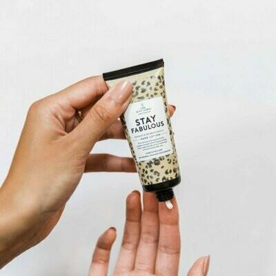 Hand cream tube - Stay Fabulous - 40 ml
