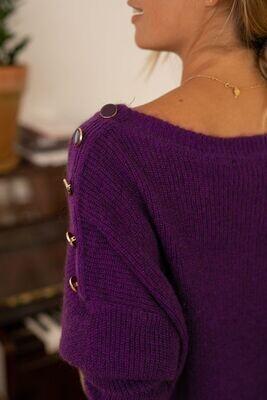 Pull Mullera violet