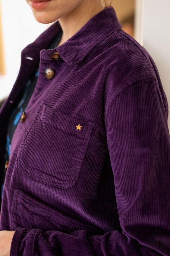 Veste Zander violet