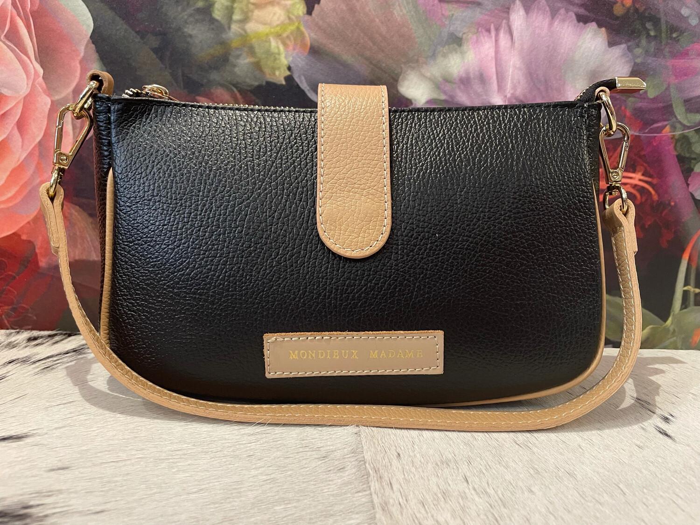 Leather Handbag Tine