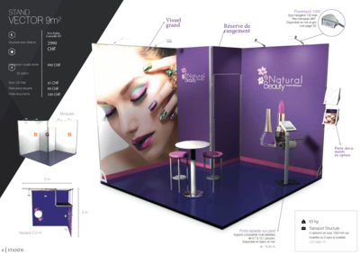 Stand Vector 9m2