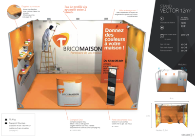 Stand Vector 12m2