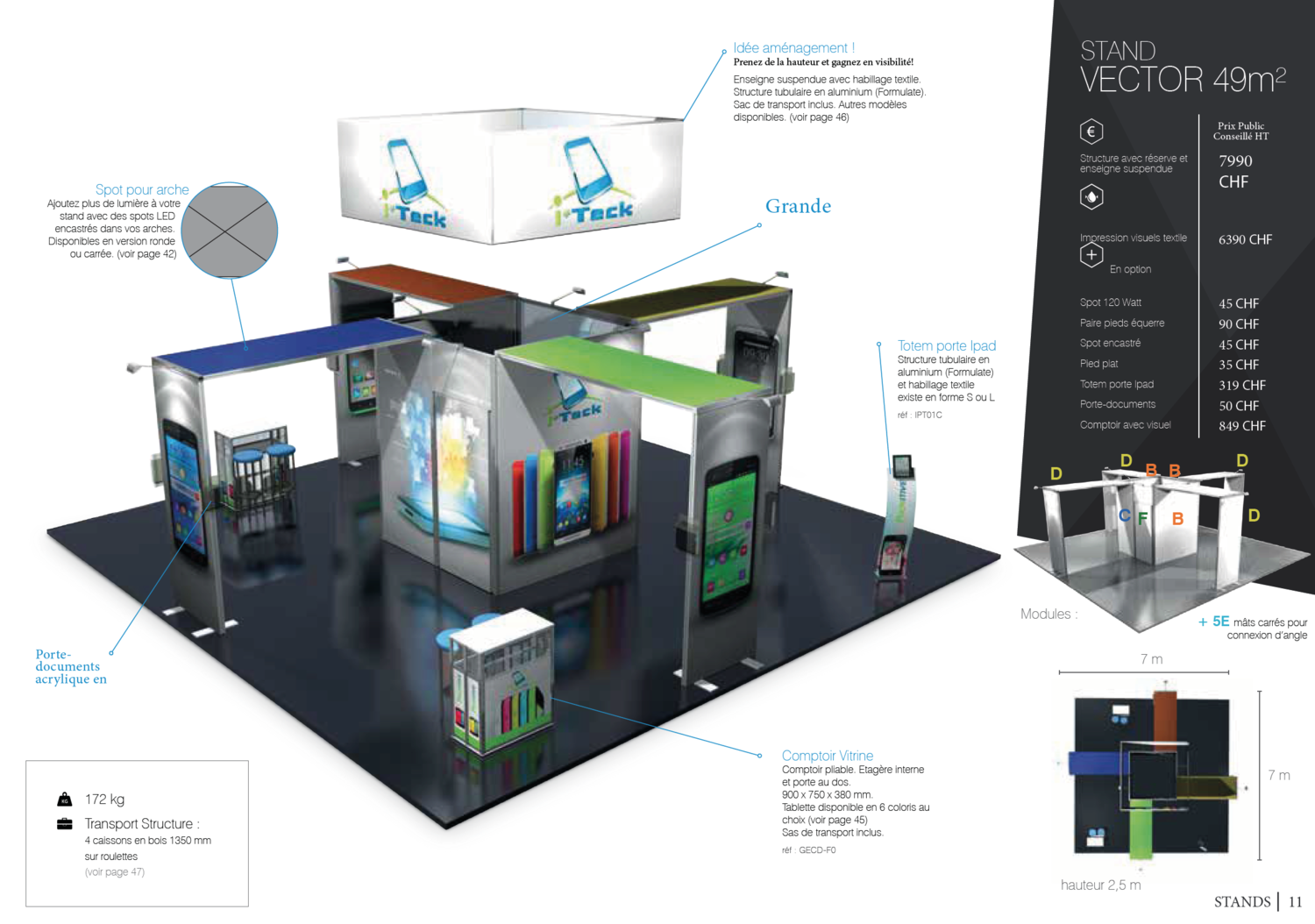 Stand Vector 49m2