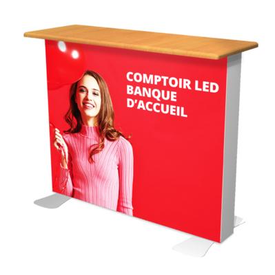 BANQUE D'ACCUEIL LED VECTOR