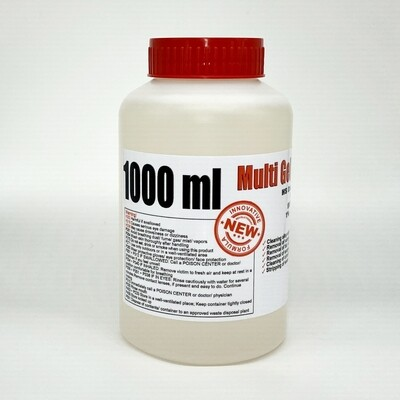 Multi Gel Remover® 1000ml (GEL FORM)