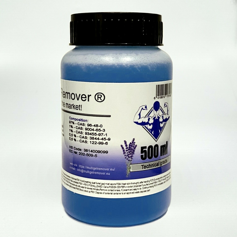 Multi Gel Remover® 500ml Technical Grade Blue (GEL FORM)