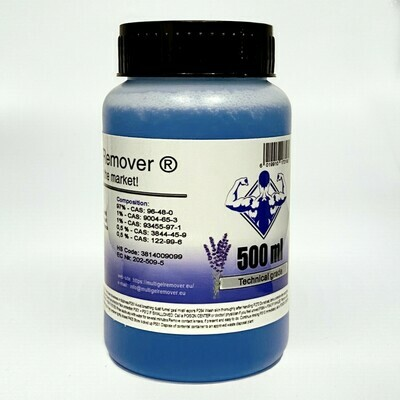 Multi Gel Remover® 500ml Technical Grade Blue (GEL FORM)