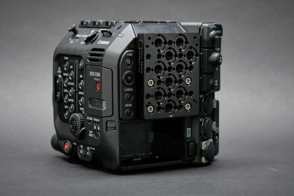 Rear Cheese Plate for Canon C500 MkII/C300 MkIII
