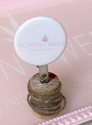 Women + Weed Buttons