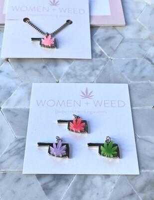 Cannabis Oklahoma Necklace