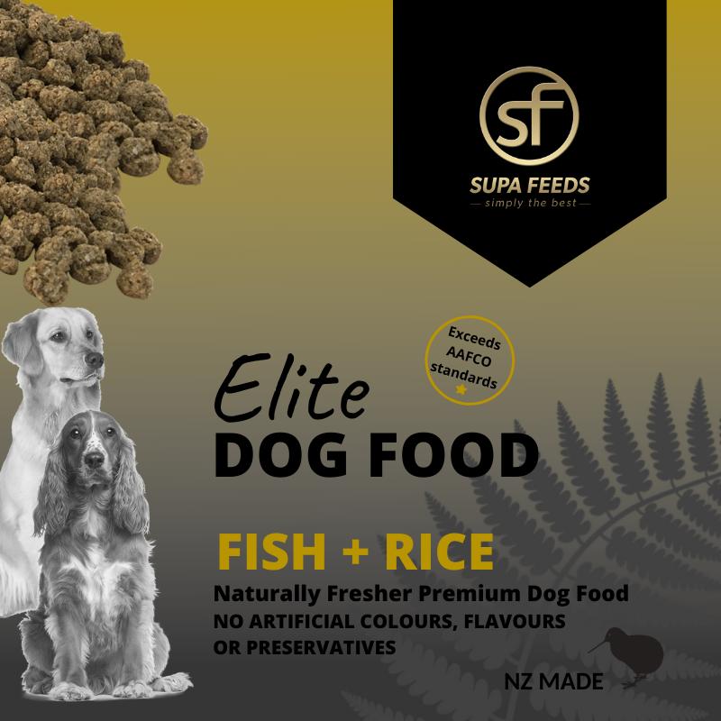 Elite Dog Food - Fish + Rice