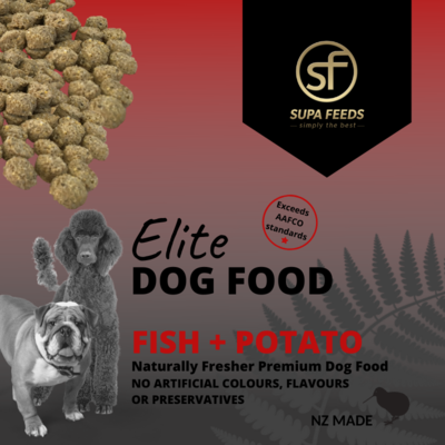 Elite Dog Food - Fish + Potato