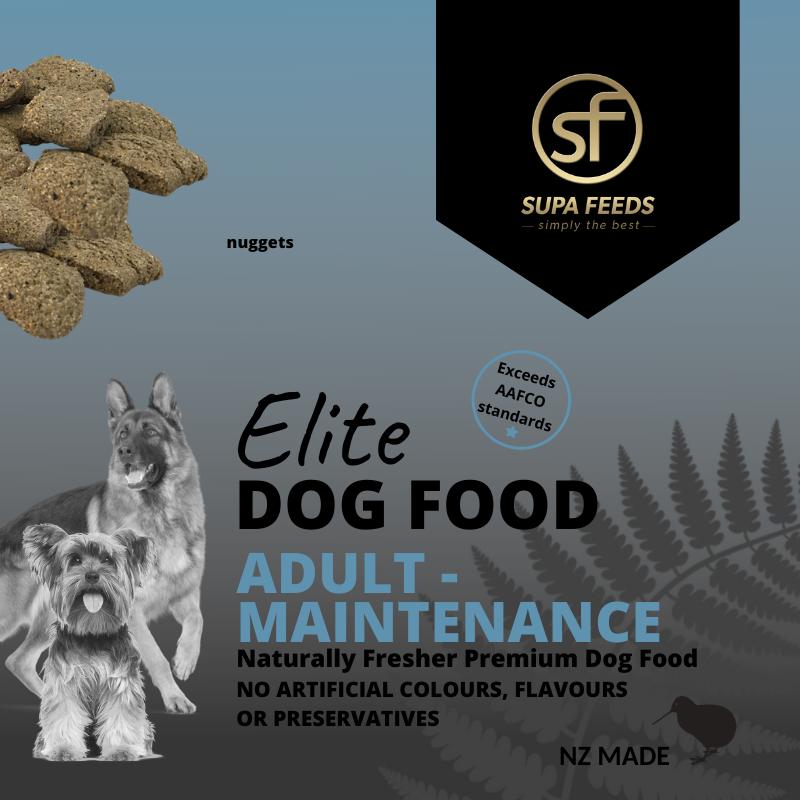 Elite Dog Food - Adult Maintenance Nuggets