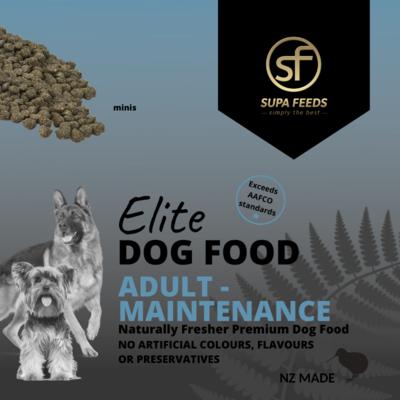 Elite Dog Food - Adult Maintenance Minis