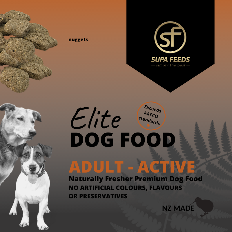 Elite Dog Food - Adult Active Nuggets