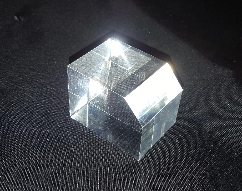 Basetta espositore in plexiglass per orologi ecc. trasparente - Lotto da pz. 20