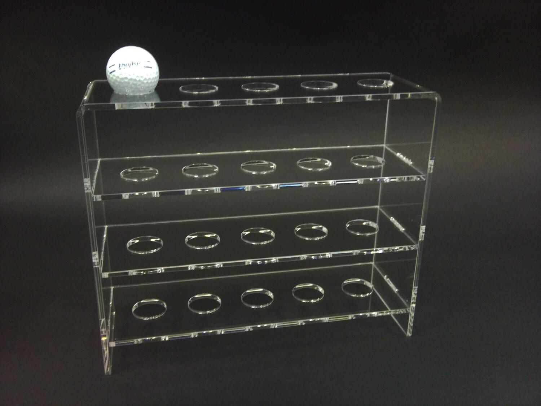 Bacheca espositore per palline da golf