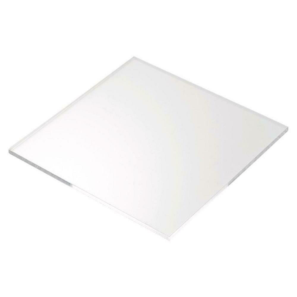 Lastrina IN PLEXIGLASS trasparente incolore cm. 50x50 spessore mm. 8