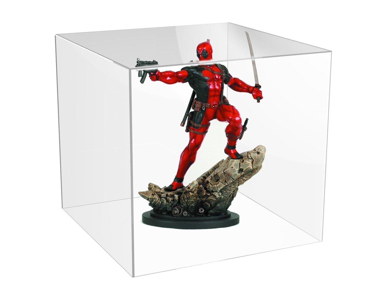 Teca - vetrinetta per action figure - comiquette - modellini in plexiglass cm. 30x30XH.30