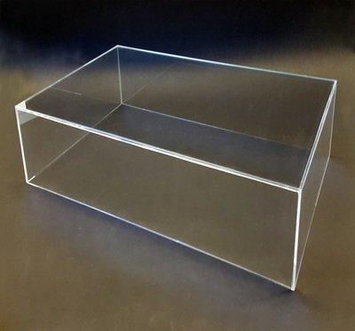 Teca - vetrinetta per modellini action figures cm. 33,5 x 24 x h. 13,5