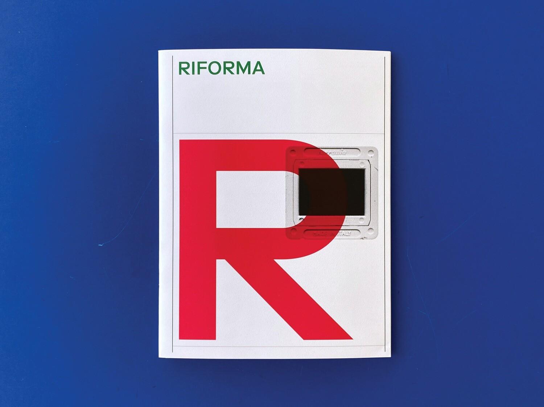 Riforma Type Specimen