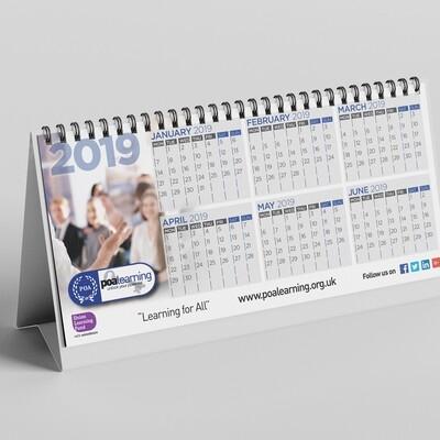 DL Desk Calendars