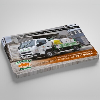 A3 160gsm Uncoated Flyers