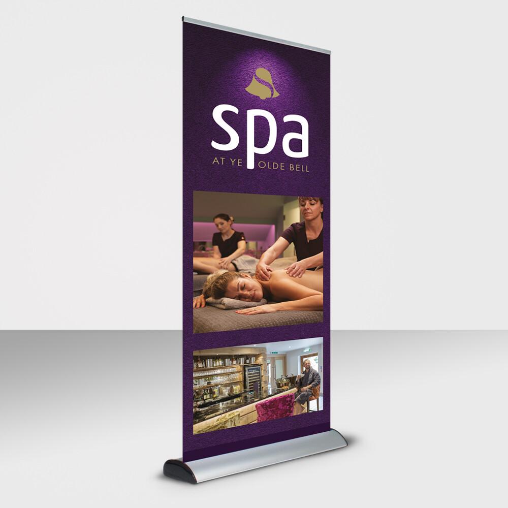 Interchangeable Graphics Banner