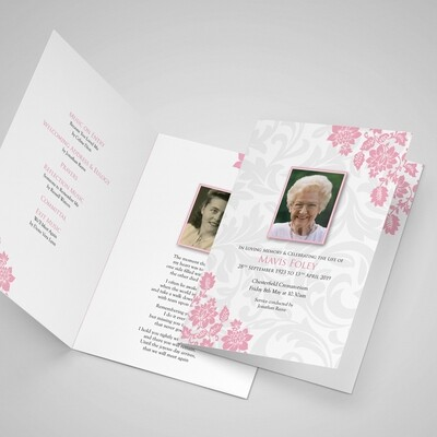 350gsm Uncoated Order of Service