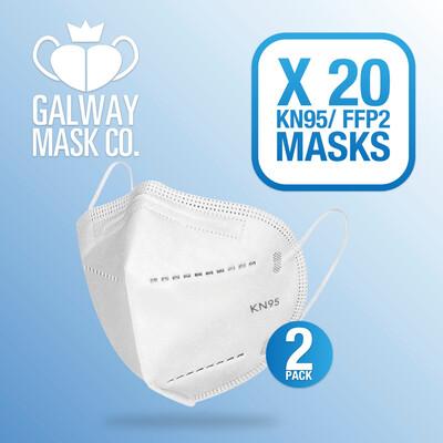 20 X FFP2 Mask.  €1.50 Each